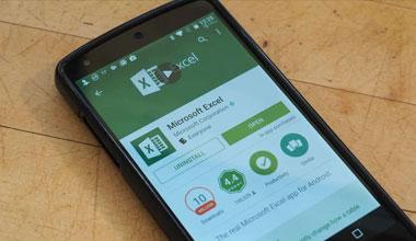 télécharger Excel de l'App Store